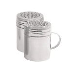 Update DR-10 10-oz Dredge/Shaker with Handle - Stainless
