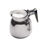 Update International DSS-12/BK 64-oz Coffee Decanter - Black/Stainless