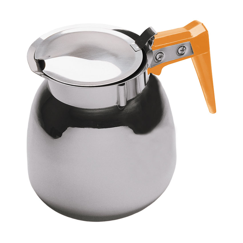 Update DSS-12/OR 64-oz Coffee Decanter - Orange/Stainless