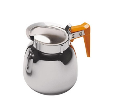 Update International DSS-12/OR 64-oz Coffee Decanter - Orange/Stainless