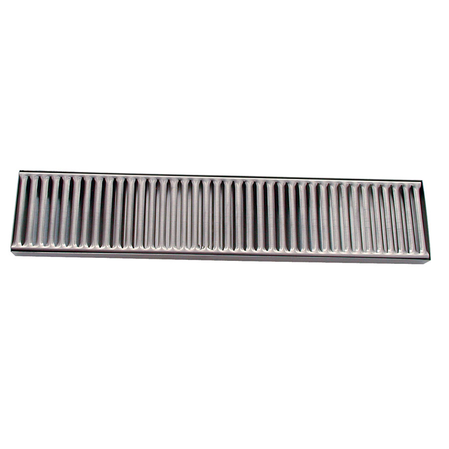 "Update International DTS-419 Drip Tray - 19-3/8x4-1/8"" Stainless"