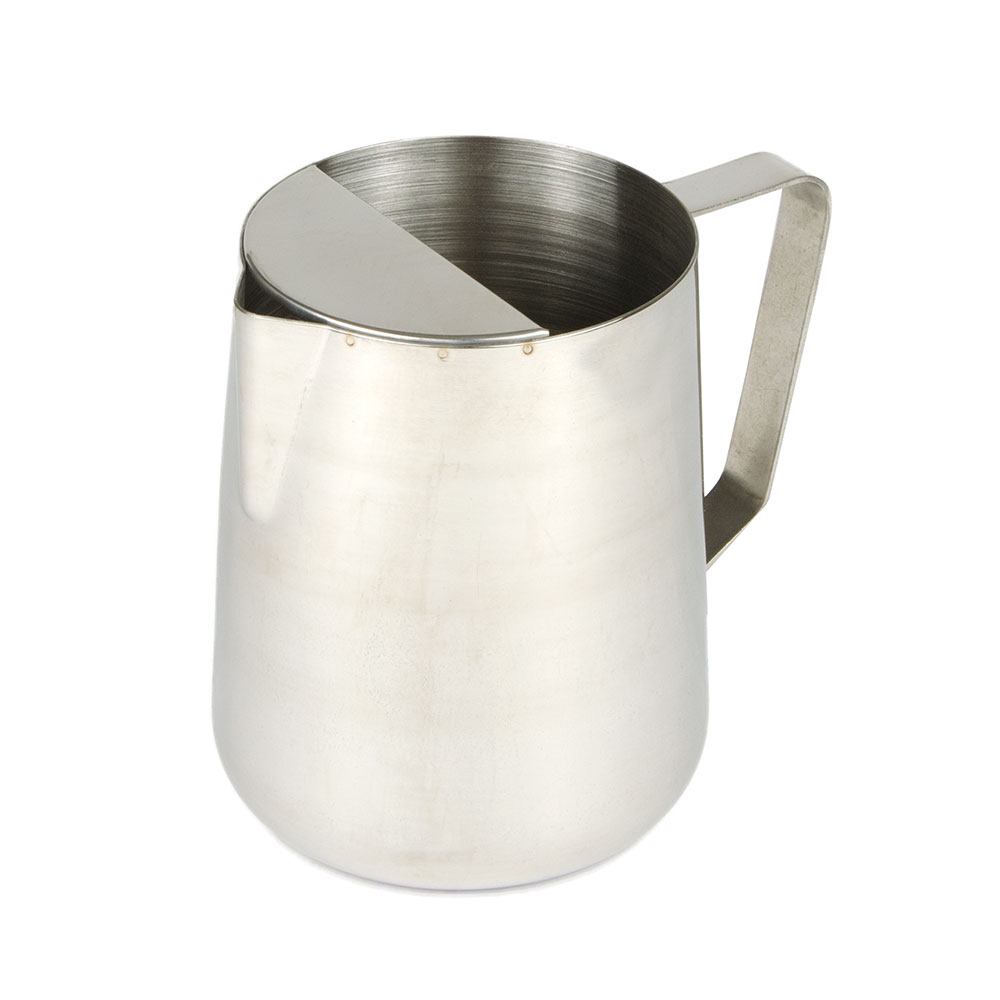 Update International DWP-66 64 oz Deluxe Stainless Steel Water Pitcher Restaurant Supply