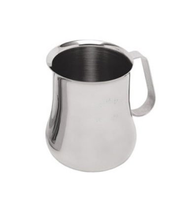Update International EPB-24M 24-oz  Espresso Milk Pitcher - Measuring Scale, S