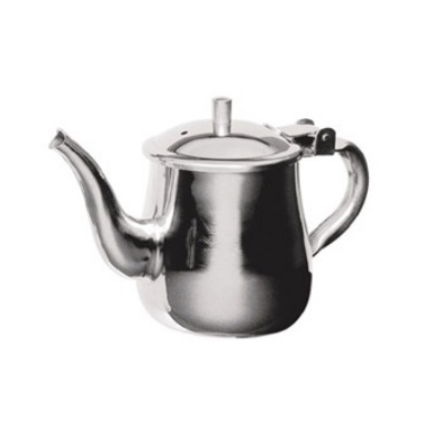 Update International GNS-10 10-oz Gooseneck Teapot - Stainless