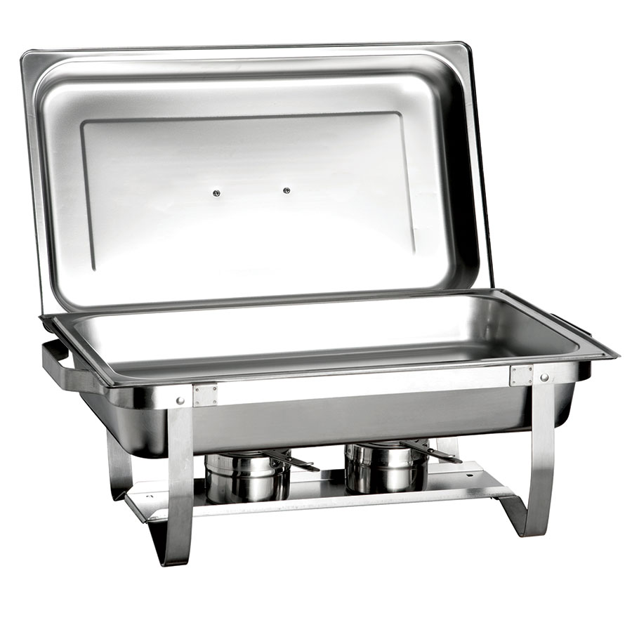 Update ESFC-21 Full Size Chafer w/ Lift-off Lid & Chafing Fuel Heat