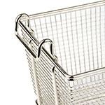 Update FB-126PH Half Size Fryer Basket, Nickel Plated
