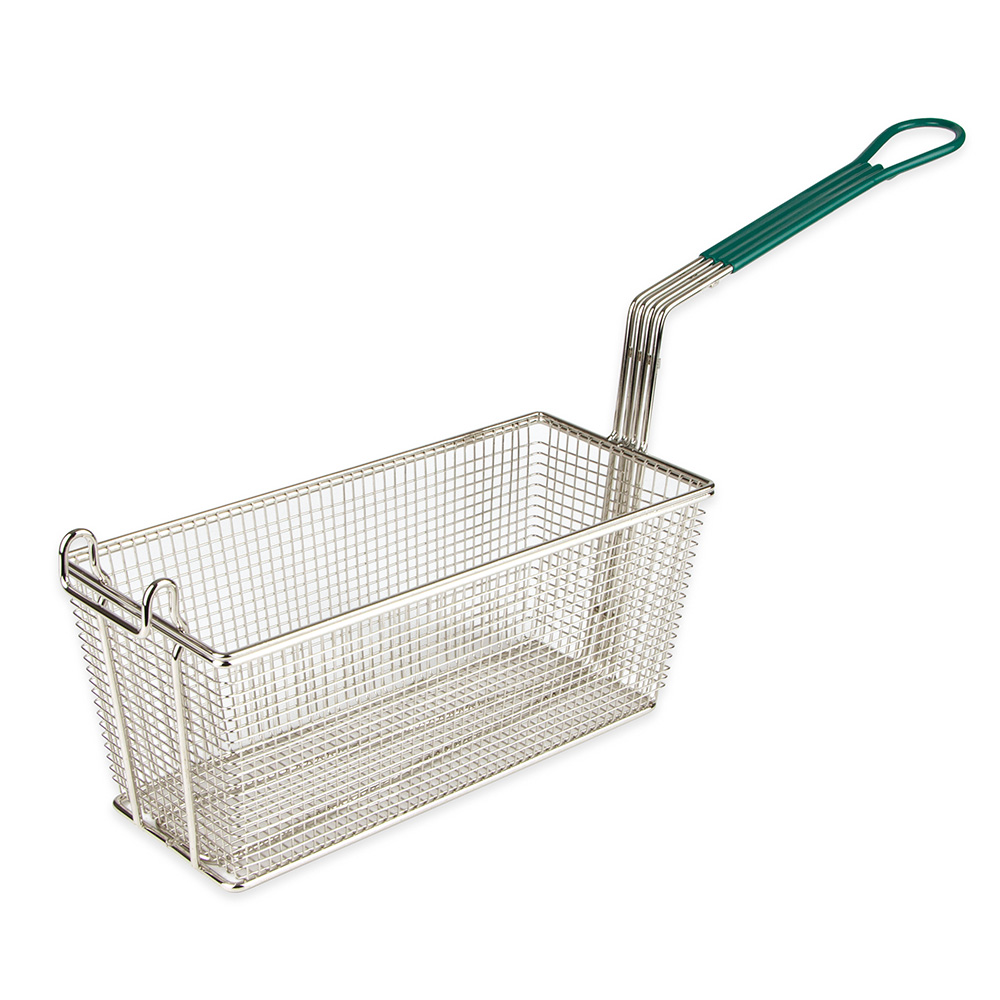 Update FB-135PH Half Size Fryer Basket, Nickel Plated