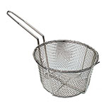 "Update FB-8 8.5"" Round Fryer Basket, Nickel Plated"