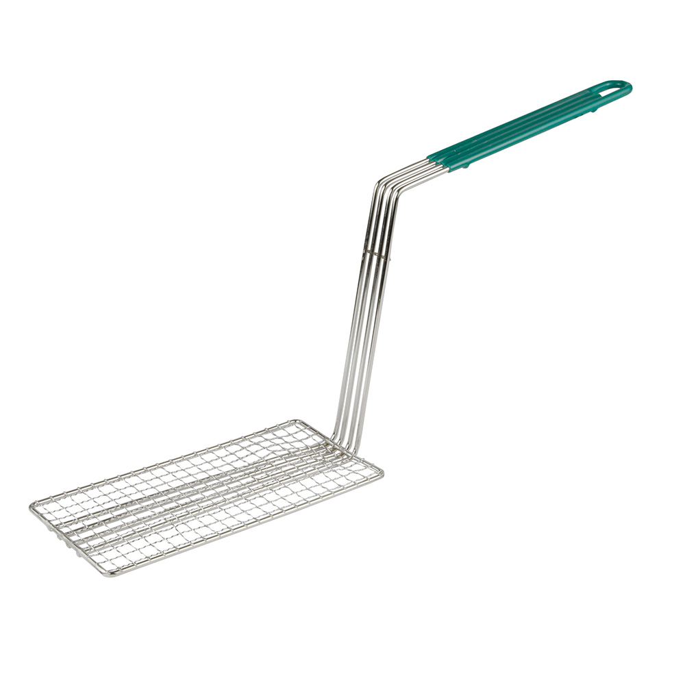 "Update International FB-PRS Fry Basket Press - 10-1/4x4-3/4x8-7/8"" Plastic Handle"