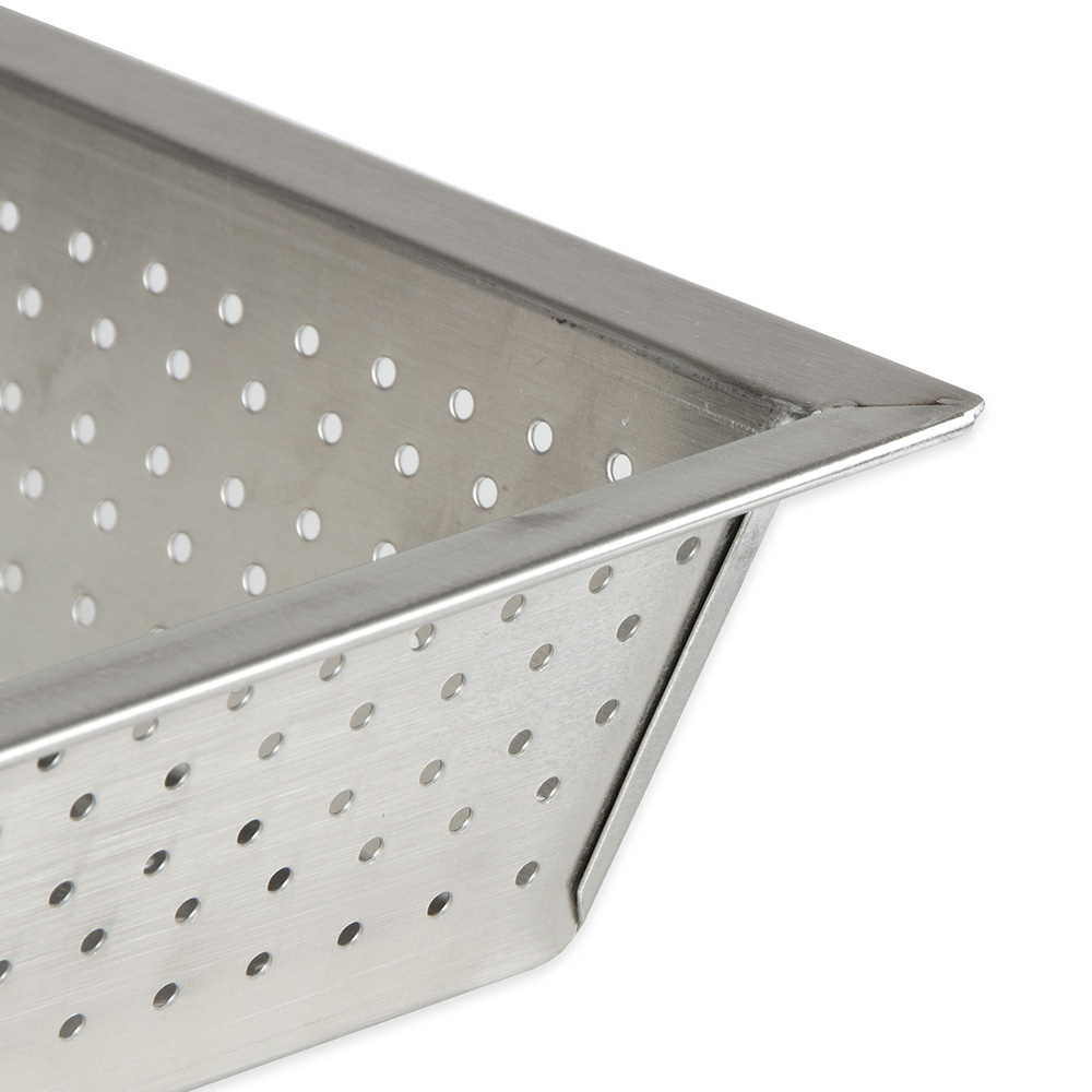 """Update FDS-875 10"""" Square Floor Drain Strainer - Stainless"""