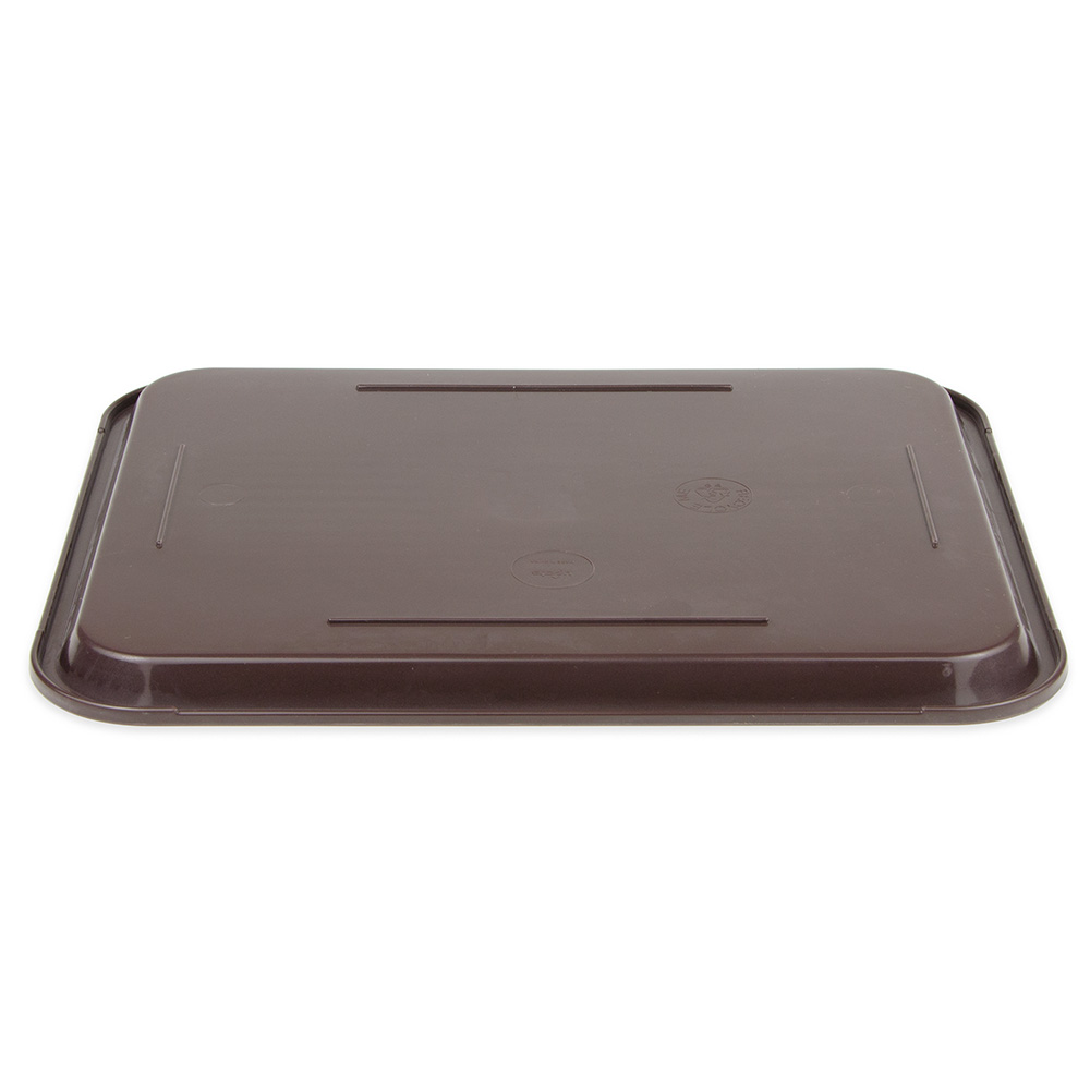 """Update FFT-1014BR Rectangular Fast Food Tray - 10x14"""" Brown"""