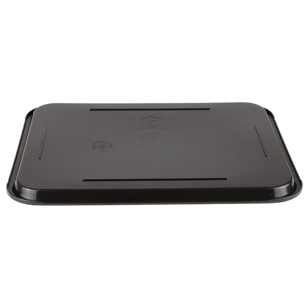 "Update FFT-1418BK Rectangular Fast Food Tray - 14x18"" Black"