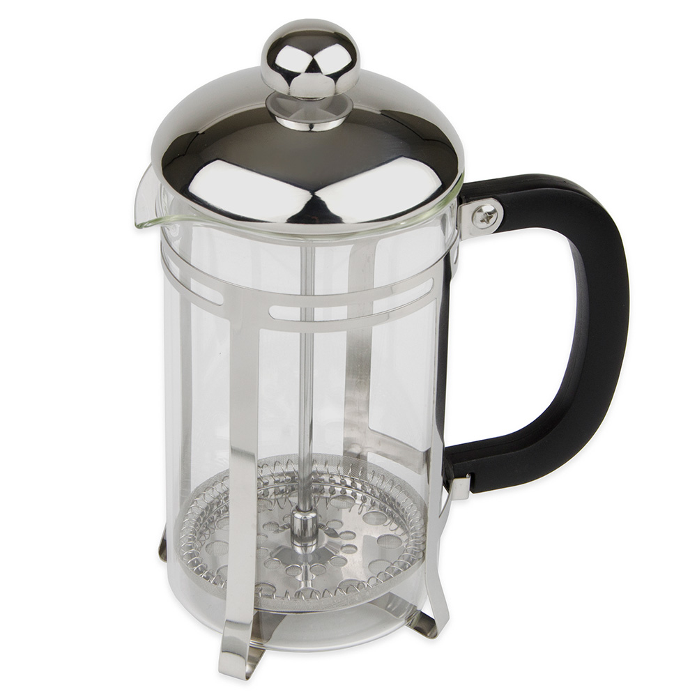 Update FP-20 20-oz French Press - Black Bakelite Handle, Stainless Frame