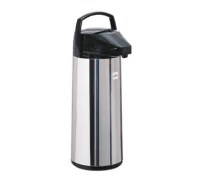 Update FP-30D/BK/BT 3.0 Liter Lever Top Airpot, Stainless Steel, Black
