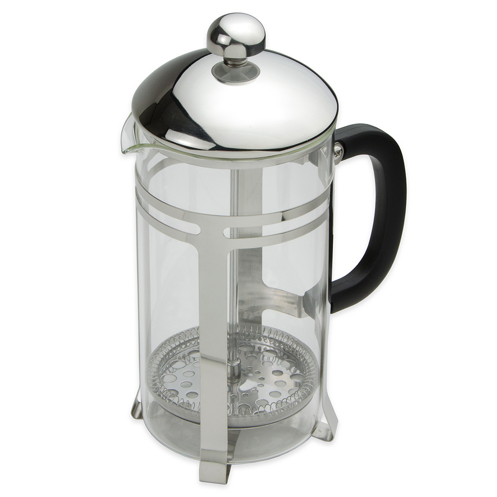 Update FP-33 33-oz French Press - Black Bakelite Handle, Stainless Frame