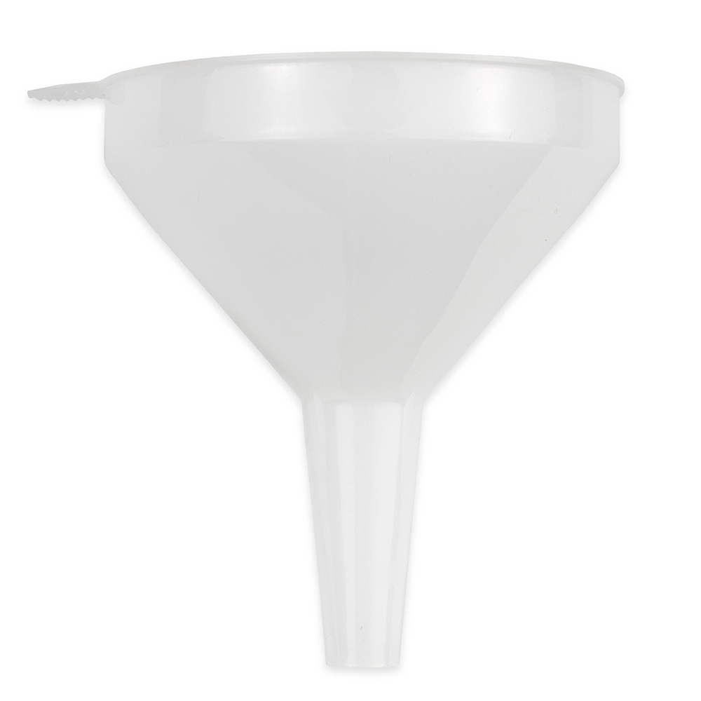 Update FPW-4 8-oz Plastic Funnel - White