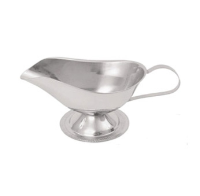 Update International GB-3 3-oz Sauce Boat - Stainless