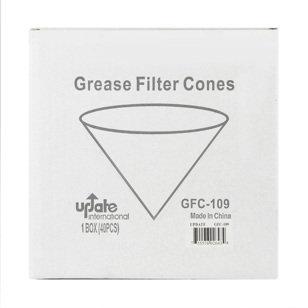 Update GFC-109 Cone Fryer Filter Paper, Flat Sheet