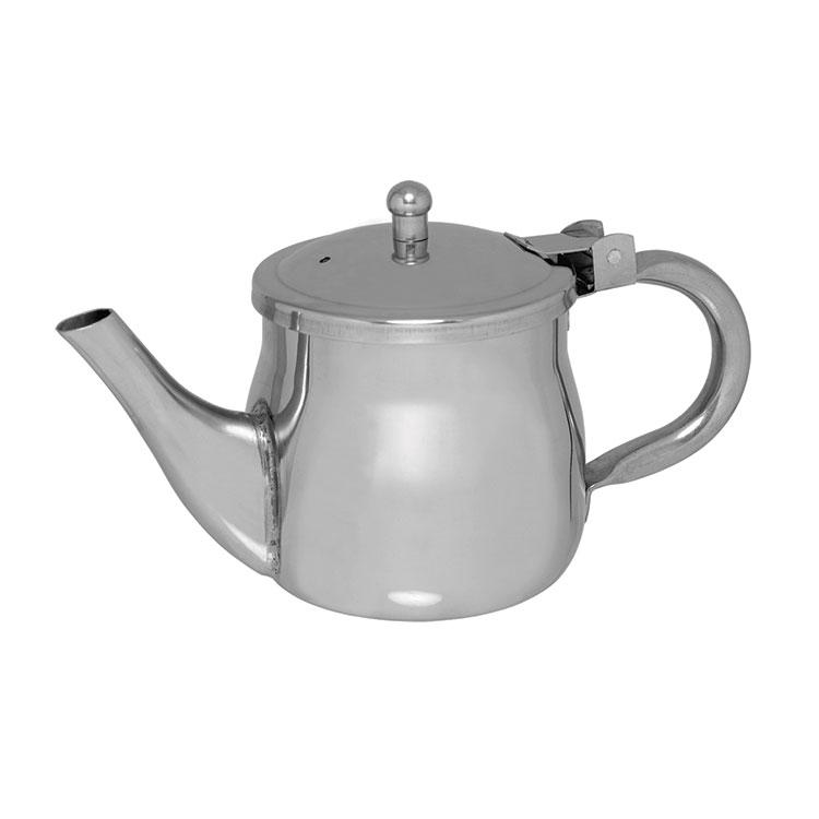 Update GNS-10 10-oz Gooseneck Teapot - Stainless