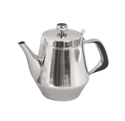 Update International GNS-48 48-oz Gooseneck Teapot - Stainless