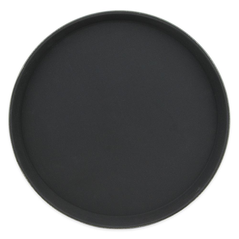 """Update GT-1400BK 14"""" Round Grip Tight Tray - Black"""