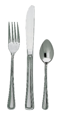 Update International HL-406 Harbor Salad Fork - 1.8mm Stainless, Bright-Polish