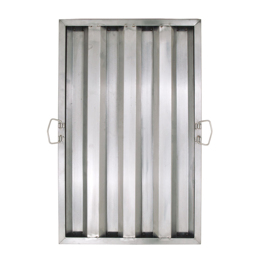 "Update International HF-1625 Hood Filter - 16x25"" Stainless"