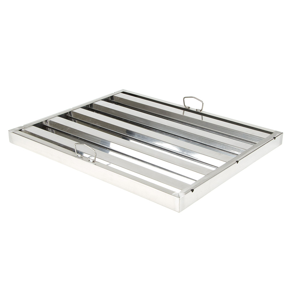"Update International HF-2025 Hood Filter - 20x25"" Stainless"