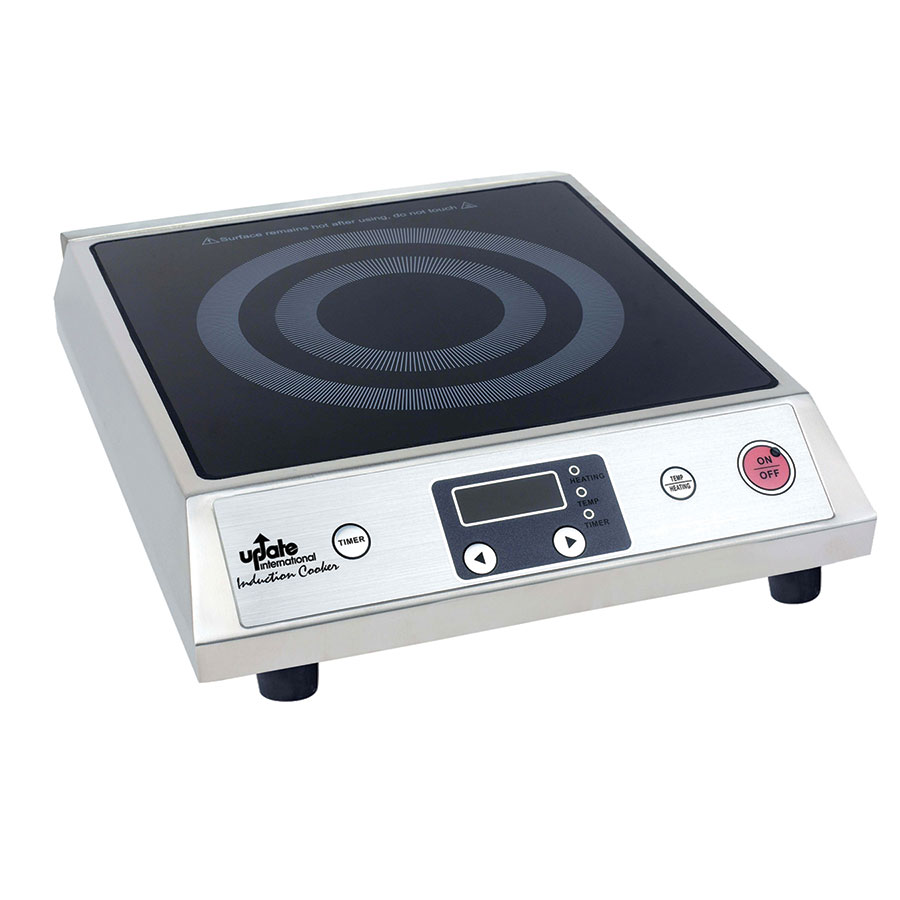 update ic 1800wn countertop commercial induction cooktop w 1 burner 120v. Black Bedroom Furniture Sets. Home Design Ideas