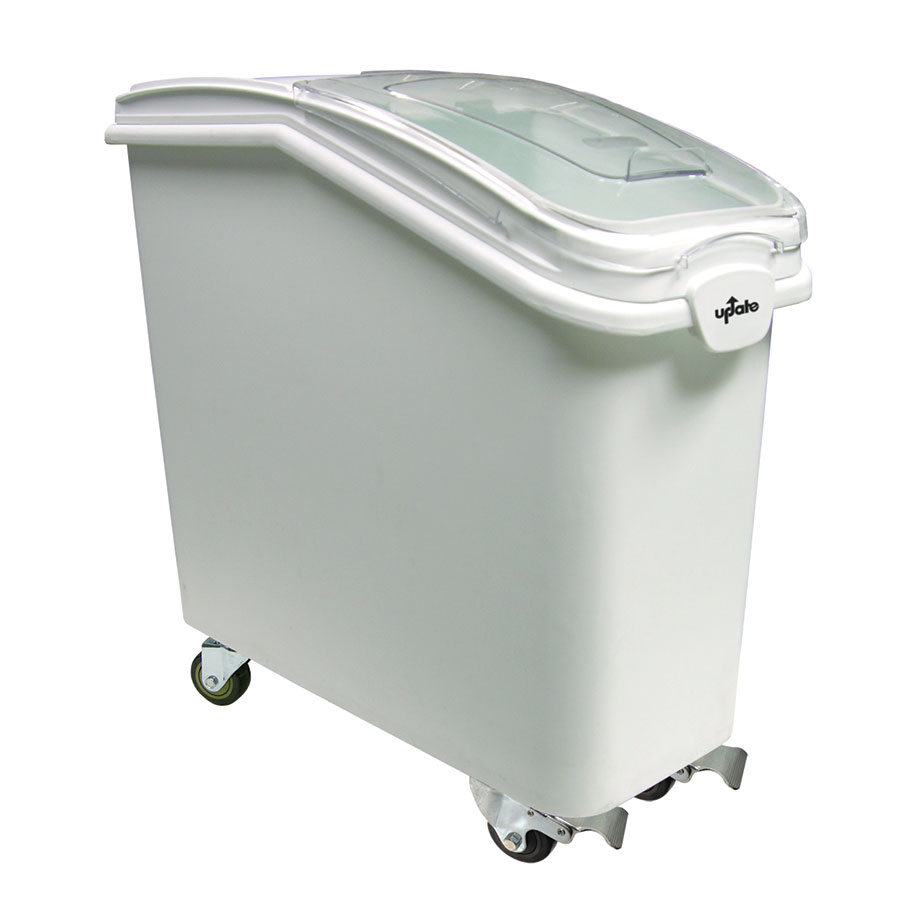 Update IGBN-27 27-gal Ingredient Bin with Lid - White