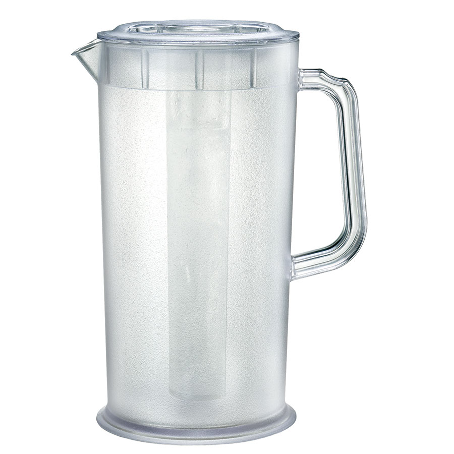 Update JP-66SC 66-oz Juice Pitcher w/ Ice Tube - Clear