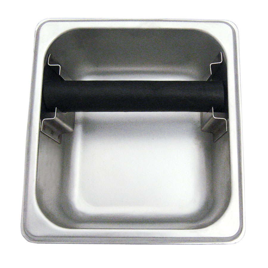 "Update KB-164 Knock Box - 6-1/2x7x4"" Stainless"