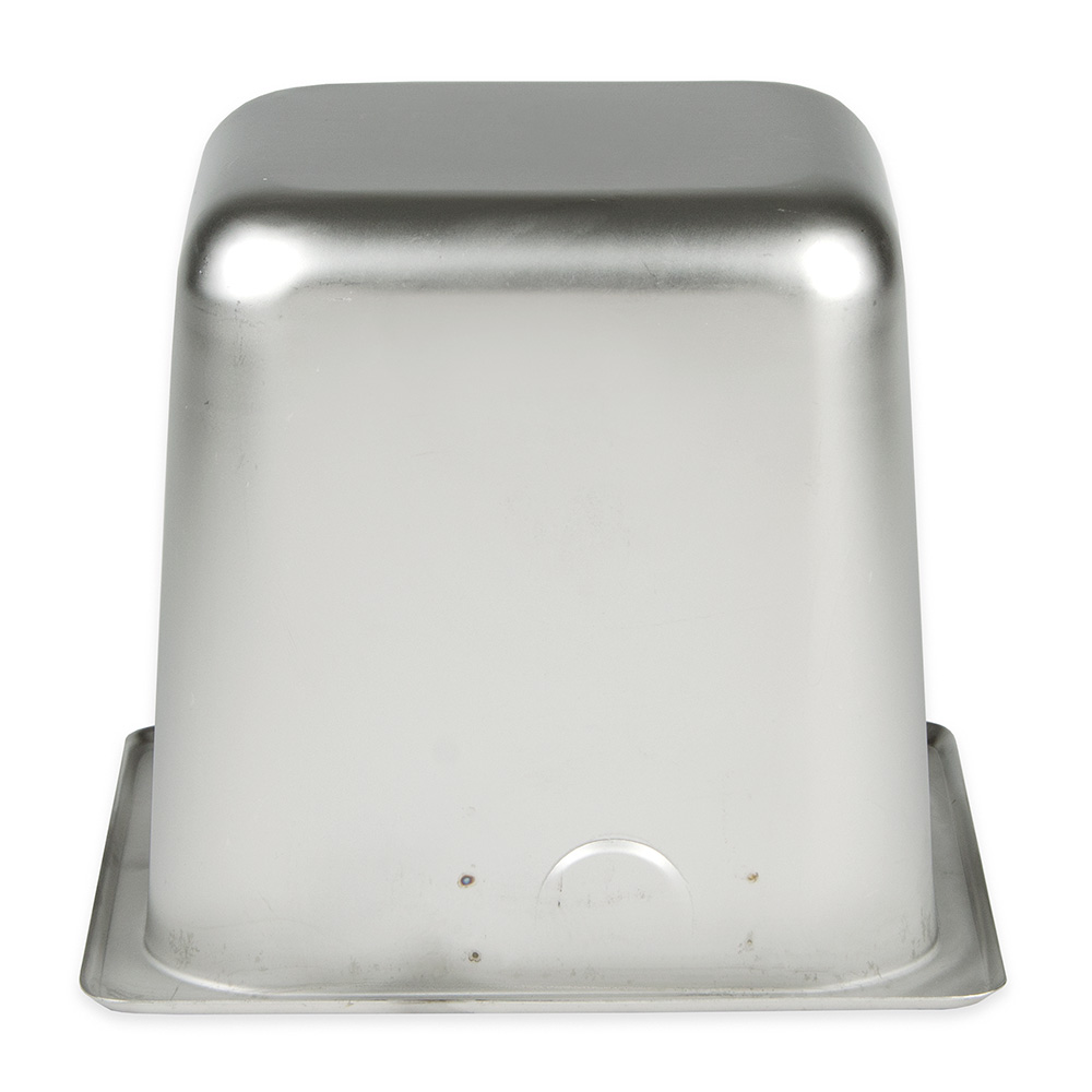 """Update KB-166 Knock Box - 6-1/2x7x6"""" Stainless"""