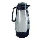 Update KF-190 1.9-Liter Handy Pot Vacuum Server - Bru-Thru Lid, Chrome/Black