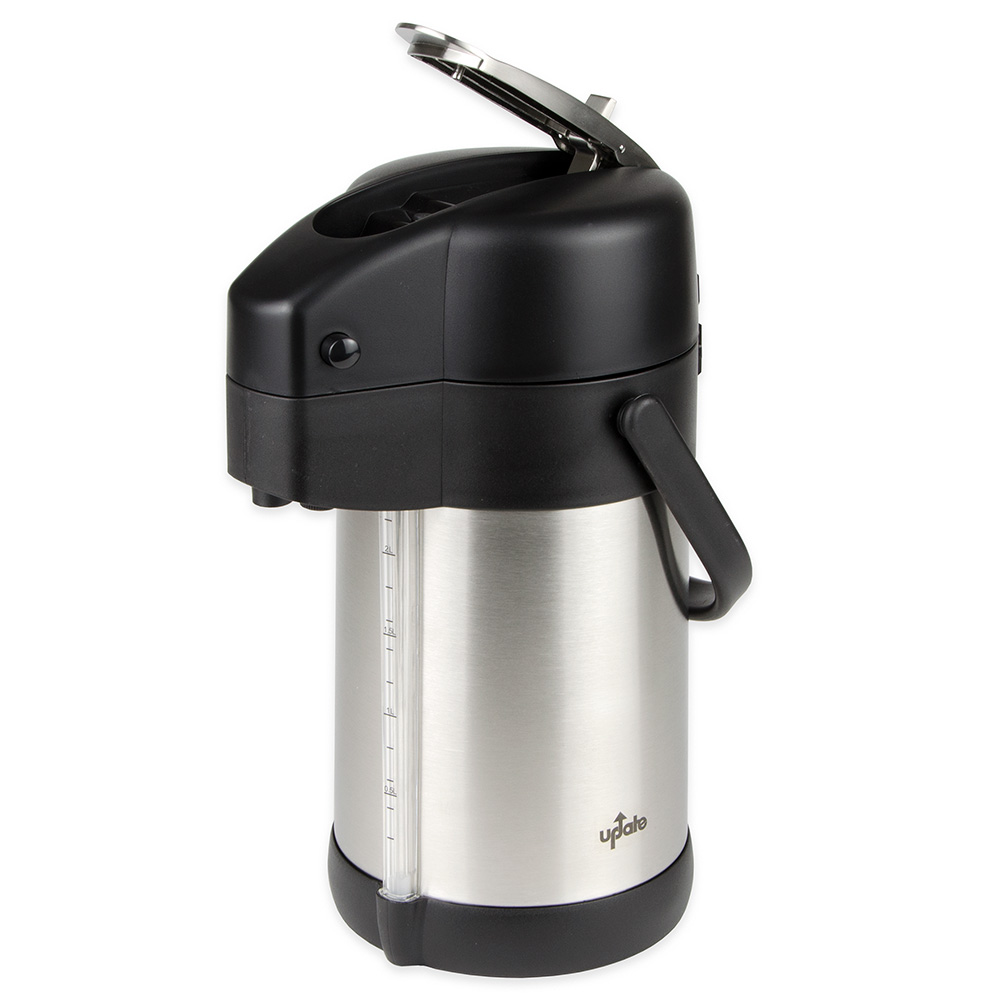 Update International LSG-22/BK 2.2-liter Prem-Air Airpot - Stainless