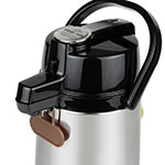 Update LSVL-25-BK/SF 2.5-liter Airpot - Stainless/Black