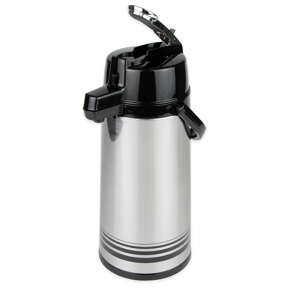 Update LSVL-25-BK/SF 2.5-liter Airpot - Stainless/Black