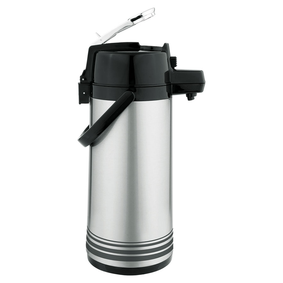 Update LSVL-30-BK/SF 3-liter Airpot - Stainless/Black