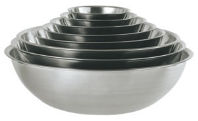 Update International MB-400 4-qt Mixing Bowl - Stainless