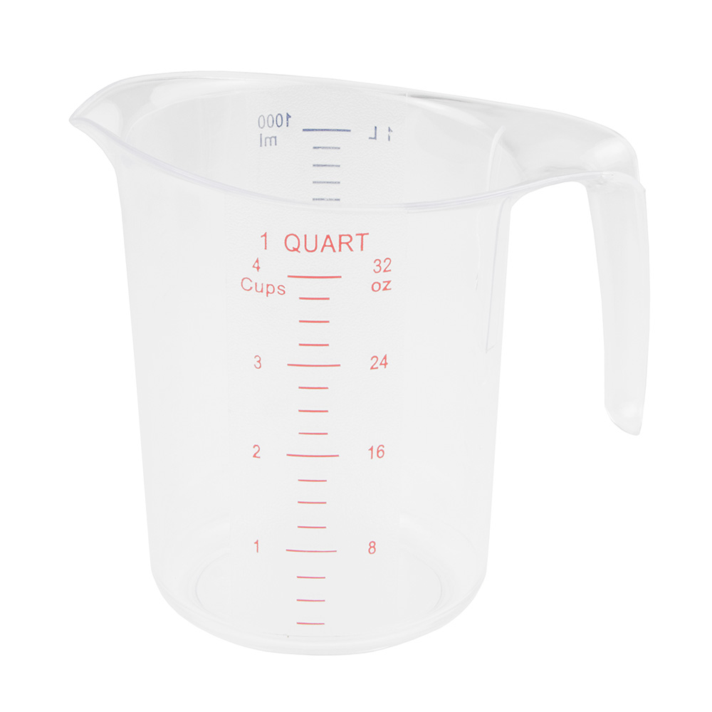 Update MEA100PC 1-qt Dry Measuring Cup, Polycarbonate
