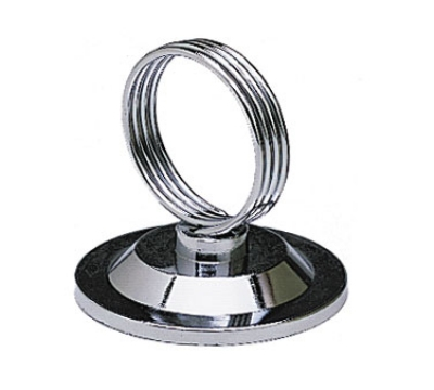 Update International MH-RCHB Ring Clip Menu Holder - Stainless