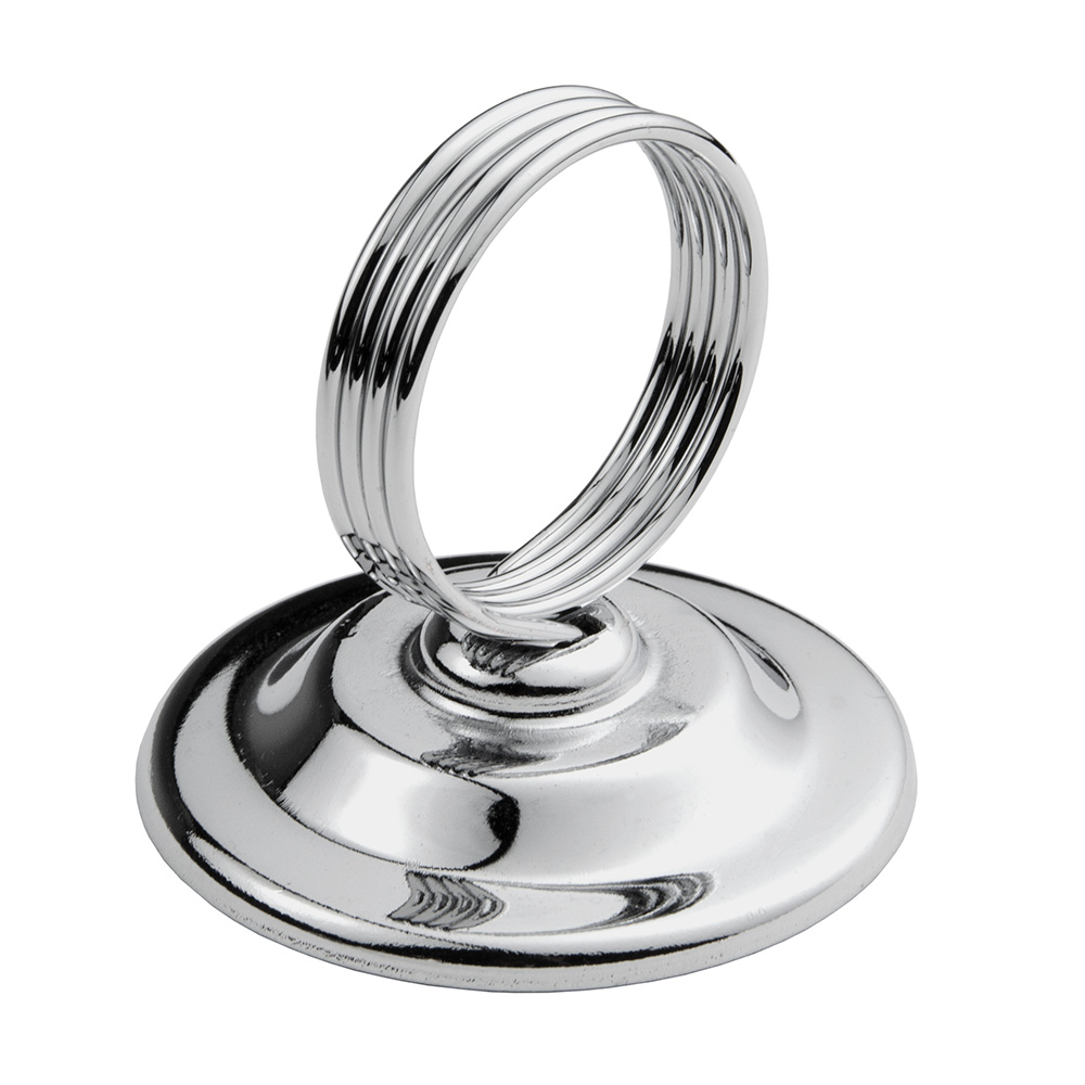 Update MH-RCHB Ring Clip Menu Holder - Stainless