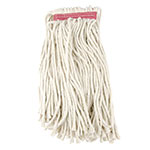 "Update MOP#24CE Cut-End Mop Head - 16x6"" Polyester/Cotton"
