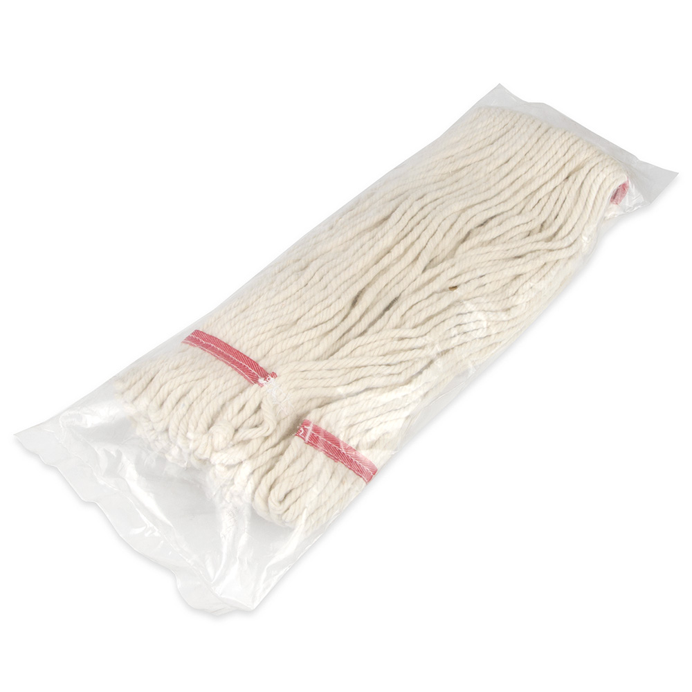 """Update MOP#24LE Loop-End Mop Head - 16x6"""" Polyester/Cotton"""