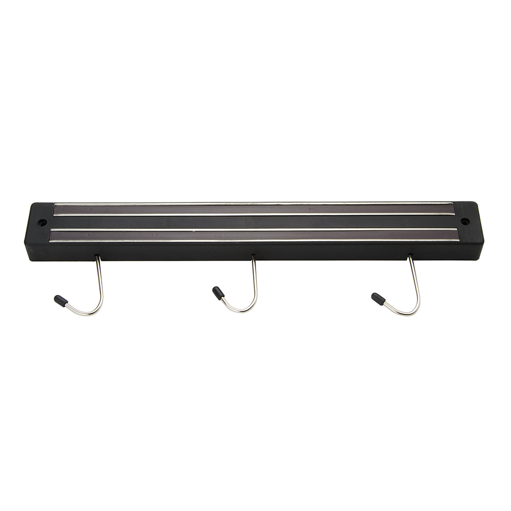 "Update MTH-13P 13"" Magnetic Tool Holder - (3)Hooks, Black"
