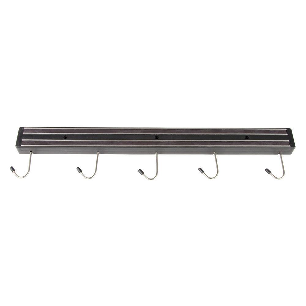 "Update MTH-18P 15"" Magnetic Tool Holder - (5)Hooks, Black"