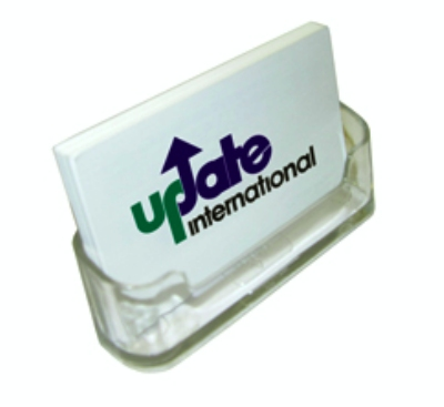 Update International NCH-40 Name/Business Card Holder - Clear Acrylic