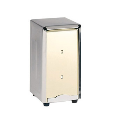 """Update ND-7 Counter-Type Napkin Dispenser - 4-5/8x3-7/8x7-1/4"""" Stainless"""