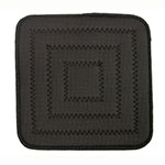 "Update NEP-8SQ 8"" Square Pot Holder - Neoprene, Black"