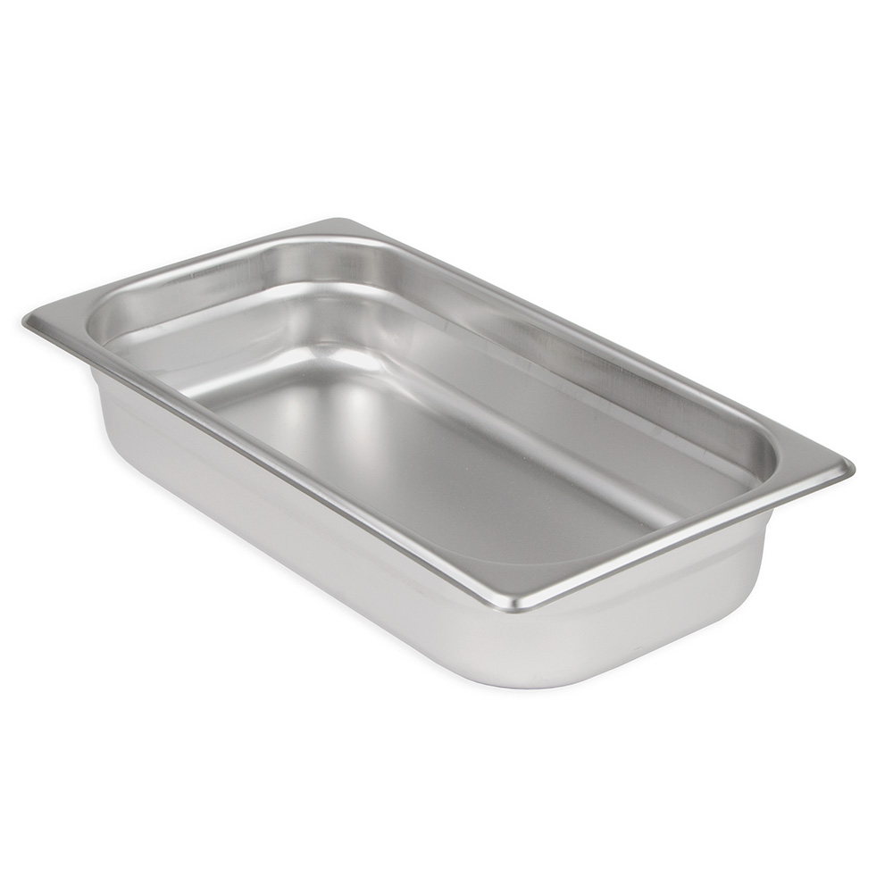Update International NJP-332 Third-Size Steam Pan, Stainless